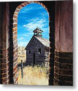 The Past Metal Print by Lynette Cook