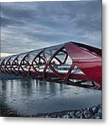 The Peace Bridge Metal Print