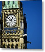 The Peace Tower, On Parliament Hill Metal Print
