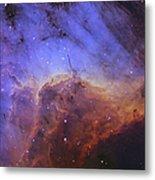 The Pelican Nebula Metal Print