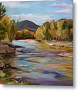 The Pemi In Autumn One Metal Print