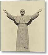 The People's Pope - John Paul II Metal Print