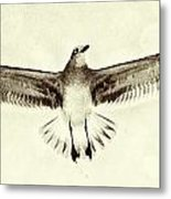 The Perfect Wing Metal Print