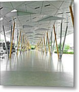 The Pick Up Point At Changi Airport In Singapore  Metal Print