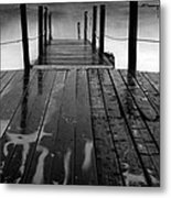 The Pier...protaras Metal Print