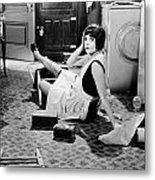 The Play Girl, 1928 Metal Print