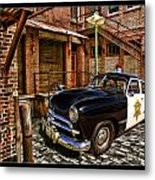 The Police Hideout Metal Print