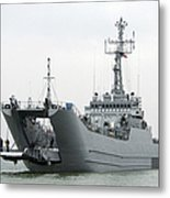 The Polish Lublin-class Minelayer Orp Metal Print