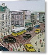The Portsmouth Ohio Post Office On The Esplanade 1948 Metal Print