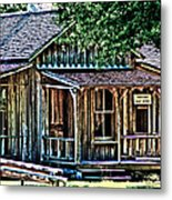 The Post Office Metal Print