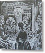 The Potato Eaters By Vincent Van Gogh Metal Print