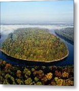 The Potomac River Makes A Hairpin Turn Metal Print