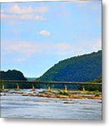 The Potomic River West Virginia Metal Print by Bill Cannon