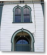 The Potter School House . Bodega Bay . Town Of Bodega . California . 7d12480 Metal Print by Wingsdomain Art and Photography