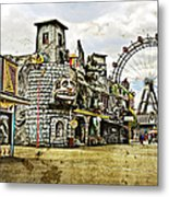 The Prater - Vienna Metal Print