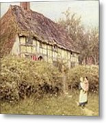 The Priest's House West Hoathly Metal Print