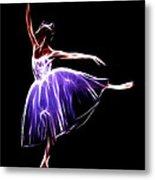 The Princess Dancer Metal Print