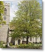 The Priory Church Of Saint Mary And All Saints Weybourne Metal Print