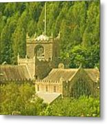 The Priory In The Woods Metal Print