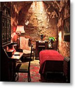 The Prison Cell Of Al Capone Metal Print
