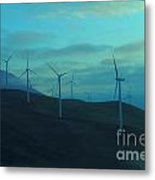 The Promise Of Wind  Metal Print