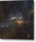 The Propeller Nebula Metal Print