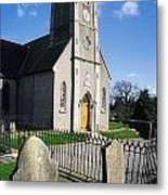 The Protestant Church, Delgany, Co Metal Print