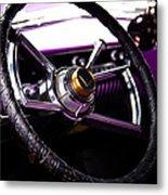 The Purple 1950 Mercury Metal Print by David Patterson