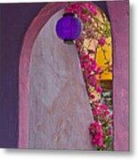 The Purple Lantern Metal Print
