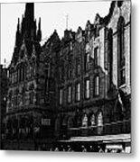 The Quaker Meeting House On Victoria Street Edinburgh Scotland Uk United Kingdom Metal Print