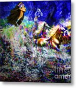 The Queen In Southern Sea Metal Print