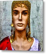 The Queen Of Bourbon Street Metal Print by Bill Cannon