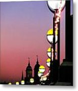 The Queen's Walk Metal Print