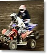 The Race To The Finish Line Metal Print