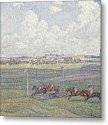 The Racecourse At Boulogne-sur-mer Metal Print