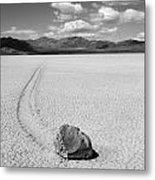 Death Valley California The Racetrack 2 Metal Print