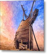 The Ravages Of Time Metal Print