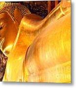 The Reclining Buddha Metal Print