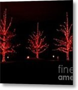 The Red Coat Metal Print