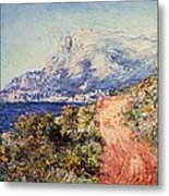 The Red Road Near Menton Metal Print