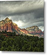 The Red Rocks Of Sedona  Metal Print