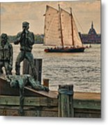 The Rescuer Metal Print