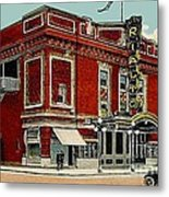 The Rialto Theatre In Brooklyn N Y In The 1920's Metal Print