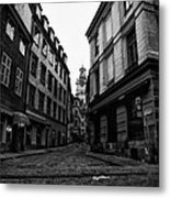 The Right Way Stockholm Metal Print