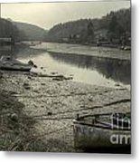 The River Fowey At Lerryn Metal Print