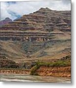 The Riverbend-grand Canyon Perspective Metal Print