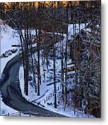 The Road Is Clear Metal Print