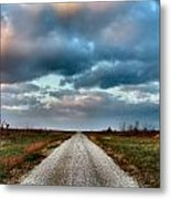 The Road To Somewhere Metal Print
