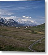 The Road To The Great One Metal Print