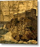 The Rock In Dubrovnik Metal Print